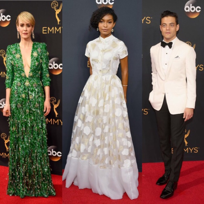 The Emmys red carpet fashion was a little boring, but at least these people looked good.