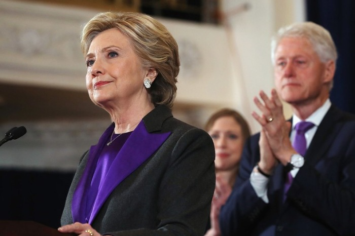 The American Election, Moving On, and Hillary Clinton's Purple Suit